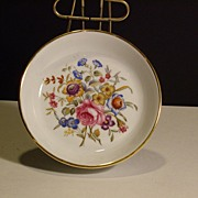 SOLD Royal Worcester  Plate Bournemouth - Happy Holidays