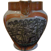 EARLY STAFFORDSHIRE PITCHER