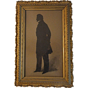 SOLD LARGE FULL FIGURE SILHOUETTE