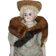 Mink Wrap for your French Fashion Doll