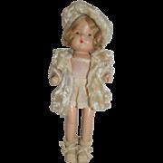 Patsy Type Doll In Winter Coat