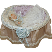1950's NASB Baby in orig. Bassinet