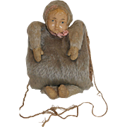1911 Ideal Baby Mine Mohair Doll Muff
