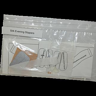 Alice Leverett Silk Evening Slippers kit
