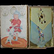 Children's Hankie Box and Hankies