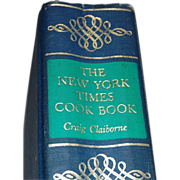 SALE 1961 Craig Claiborne NY Times Cookbook