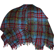 SALE Beautiful Scottish Mohair and Wool Blanket Lap Throw