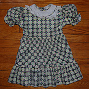 SALE 1950's Little Girl's Cotton Dress