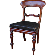 Empire Mahogany Side or Desk Chair