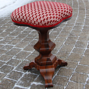 REDUCED Antique Empire Rosewood Piano Swivel Stool