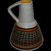 Retro 1960's Germany Stoneware Pitcher or Ewer