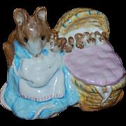 1951 Beatrix Potter Hunca Munca Figurine F Warne