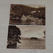 2 Early Photo Postcards Trinidad Raphael Tuck
