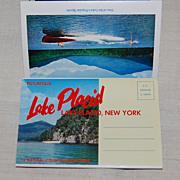 Vintage 1960 Lake Placid NY Souvenir Pack Postcards