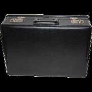 "SALE Stebco ~ Black Faux Leather ""Tufide"" Briefcase"