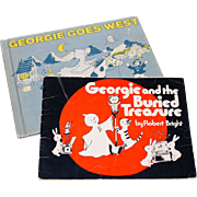 SALE VTG Set of 2 Georgie the Ghost Books