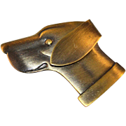 SALE Large Bronze Finish Great Dane Dog Pin