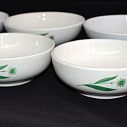 Homer Laughlin/Mayer China ~ Set of 6 Dessert/Cereal/Soup Bowls