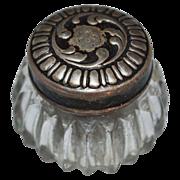 1890s R. Blackinton & Co ~ Sterling Silver Rouge Jar
