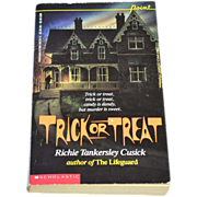 SALE 1989 Trick Or Treat Softcover Book ~ Richie T. Cusick 1st Printing