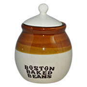 SALE Boston Baked Beans Small Crock Jar