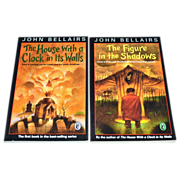 SALE 1993 John Bellairs ~ Set of 2 Scary Books: The House With A Clock In Its Walls & The Figu