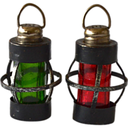 SALE Undertaker's Lantern Salt & Pepper Shaker Set
