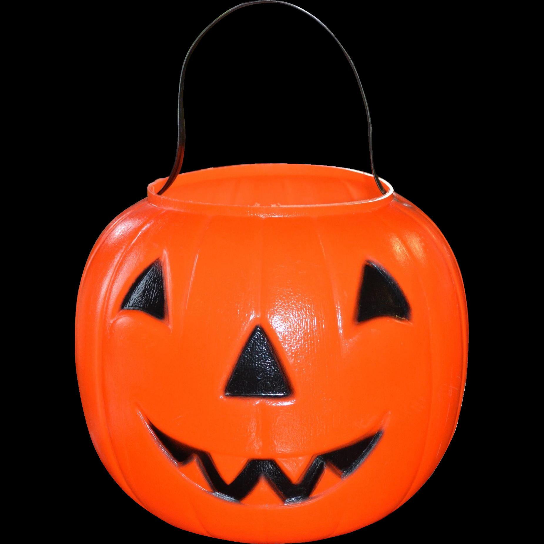 plastic pumpkin decoration