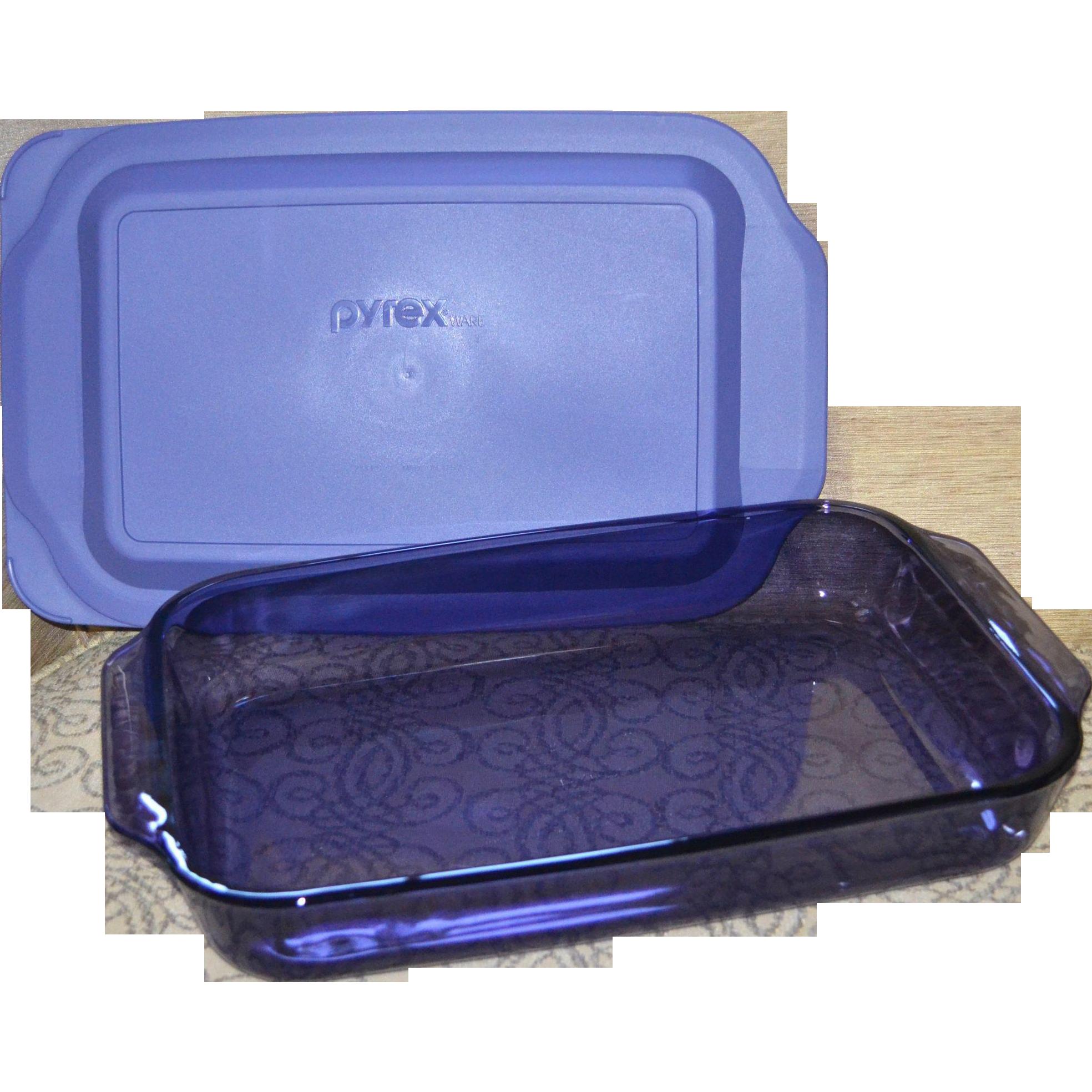 Pyrex Purple Amethyst Glass 3 Quart Cake Pan Or Baking
