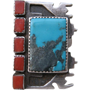 SALE Native American Ring-VERY UNUSUAL!   FREE SHIPPING!