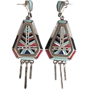Vintage Zuni Earrings   FREE SHIPPING!