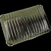 REDUCED Sterling Silver Tobacco Snuff Box, Samuel Pemberton 1778- 1823