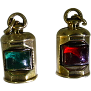 REDUCED Port & Starboard Gold Charms