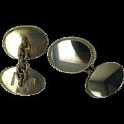 REDUCED Heavy Weight Silver Hallmarked ENGLISH Cuff links
