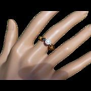 Safe & Strong Single stone Diamonds 18K Ring * * * * *
