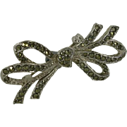 Real Marcasite Brooch