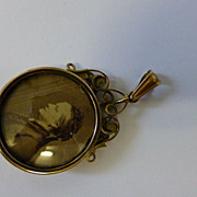 REDUCED English Victorian Double sided Locket