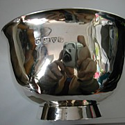 REDUCED CHESTER, English silver bowl 1915