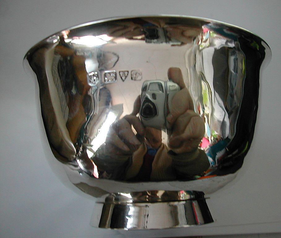 CHESTER, English silver bowl 1915