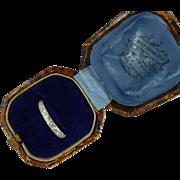 Diamond Half Eternity 18k white gold Ring