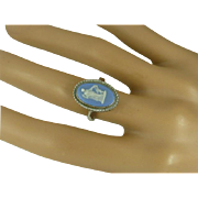 REDUCED Wedgwood Silver Ring * * * * *
