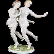 Rosenthal Art Deco Figure Dancing Nymphs