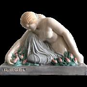 Guiraud Riviere Art Deco Nude Porcelain Figure