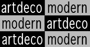 Art Deco Modern