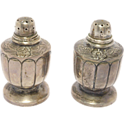 Vintage Mexican Silver Sanborn'S Salt & Pepper Shakers