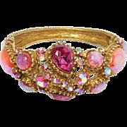 Har Dragon's Breath & Aurora Vintage Clamper Bracelet