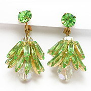 Gorgeous Rhinestone Dangling Chandelier Earrings