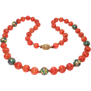 Long Strand Natural Carnelian Agate Melon Beads Chinese