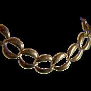 SALE NAPIER VINTAGE ~ 12KT Gold Plated Large Link Necklace