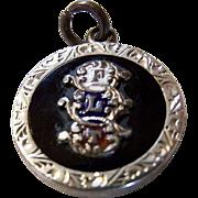 SALE REDUCED ~ Odd Fellows Medallion ~ Rare Vintage Fraternal Collectible Charm/Medallion